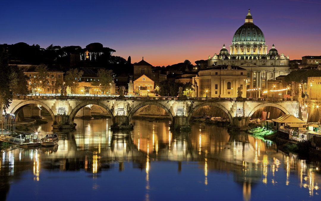 Rim, 5 dana autobusom