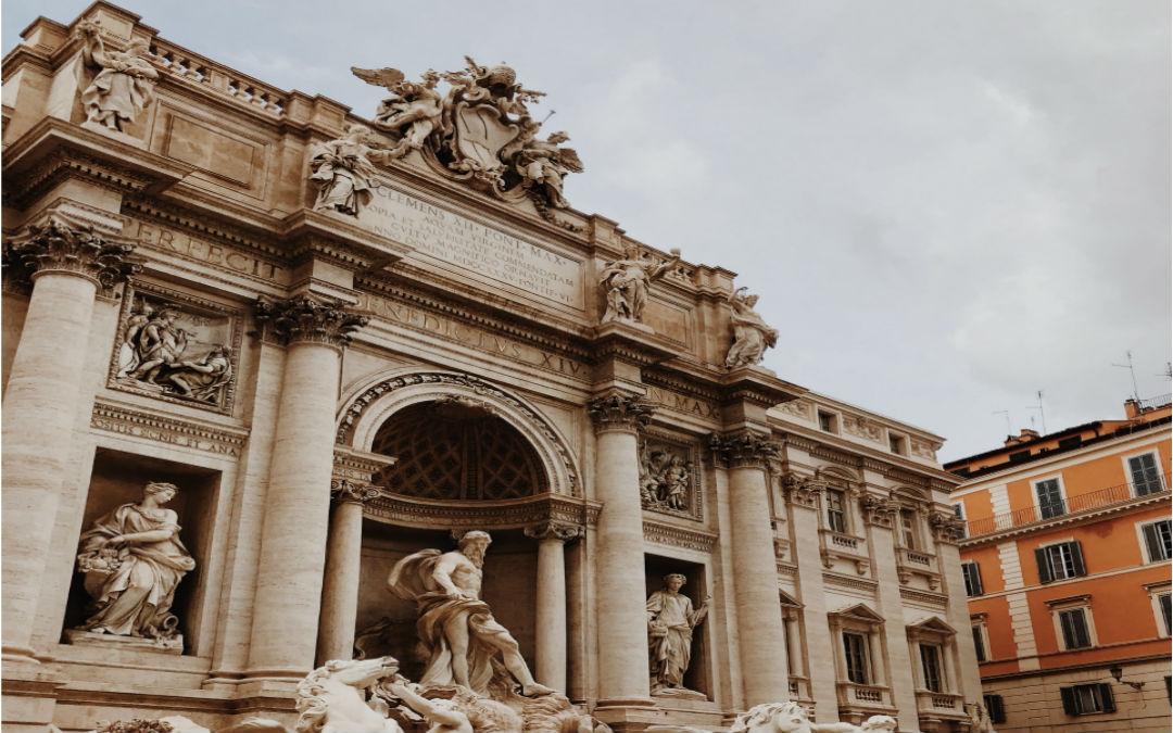 Rim, 4 dana zrakoplovom