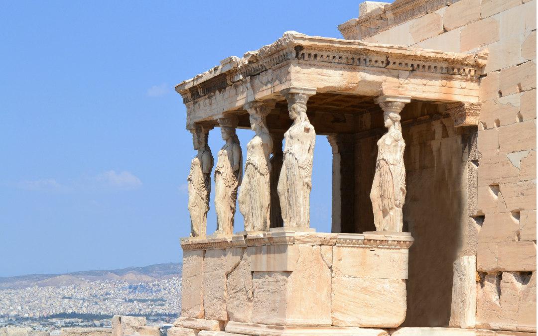 Atena, 4 dana zrakoplovom