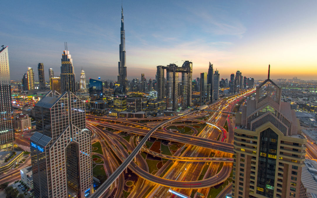 Dubai, 6 dana zrakoplovom