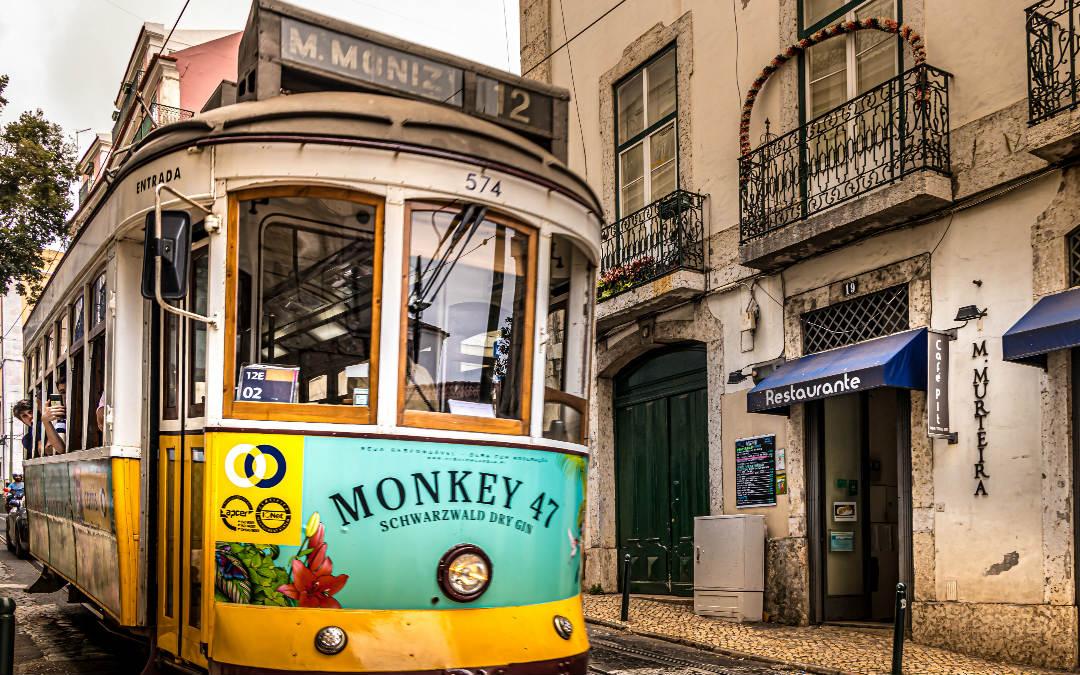 Lisabon, portugalska prijestolnica, 5 dana zrakoplovom