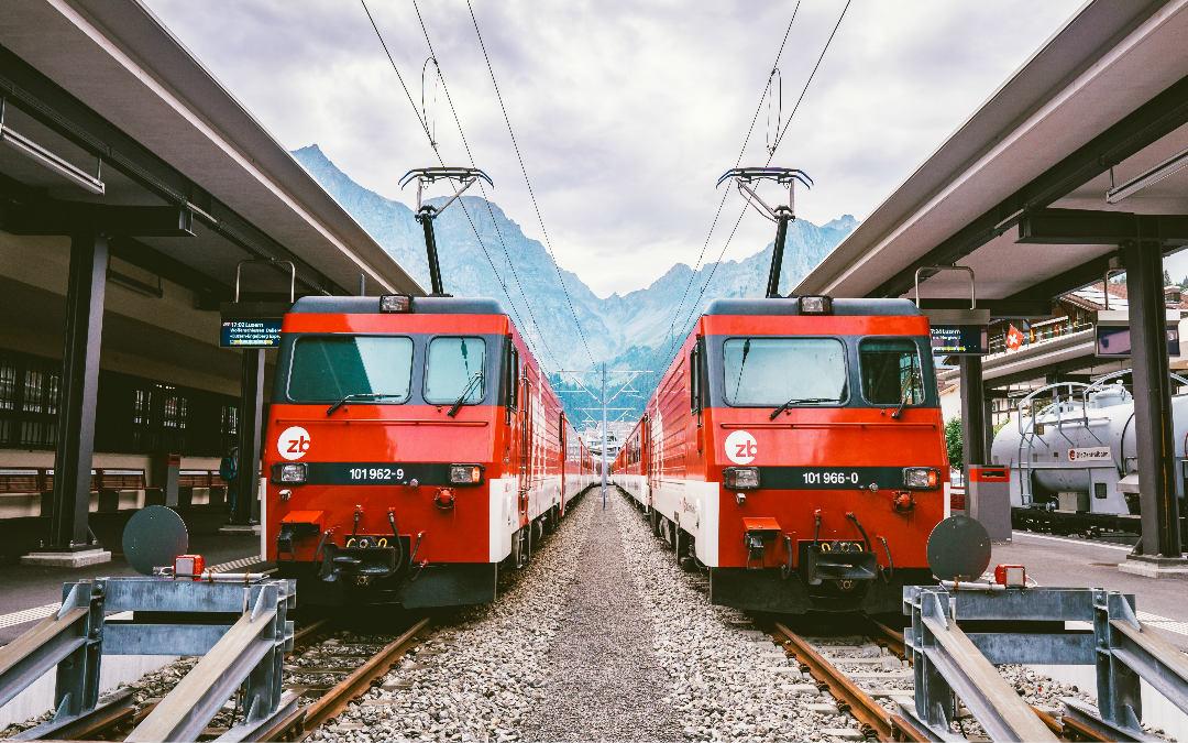 Švicarska alpskim željeznicama, 5 dana