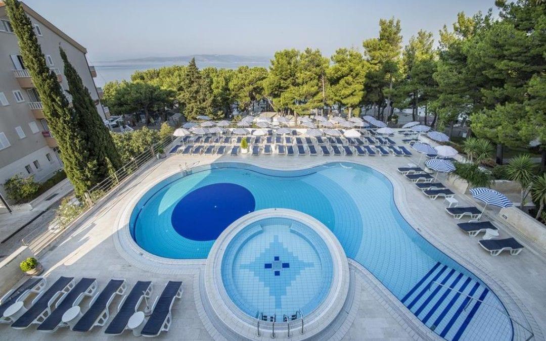 Ljeto u Hrvatskoj: Makarska rivijera – Baška Voda: hotel Horizont 4*