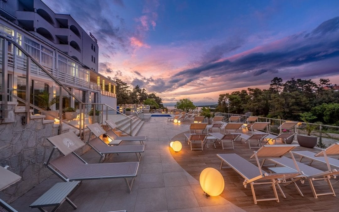 Ljeto u Hrvatskoj: otok Krk, Malinska – hotel Malin 4*