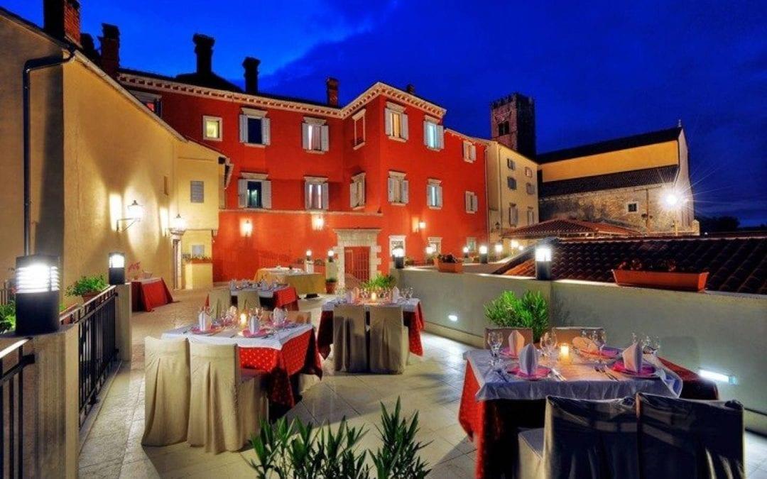 Jesen u Istri, Motovun – hotel Kaštel 3*