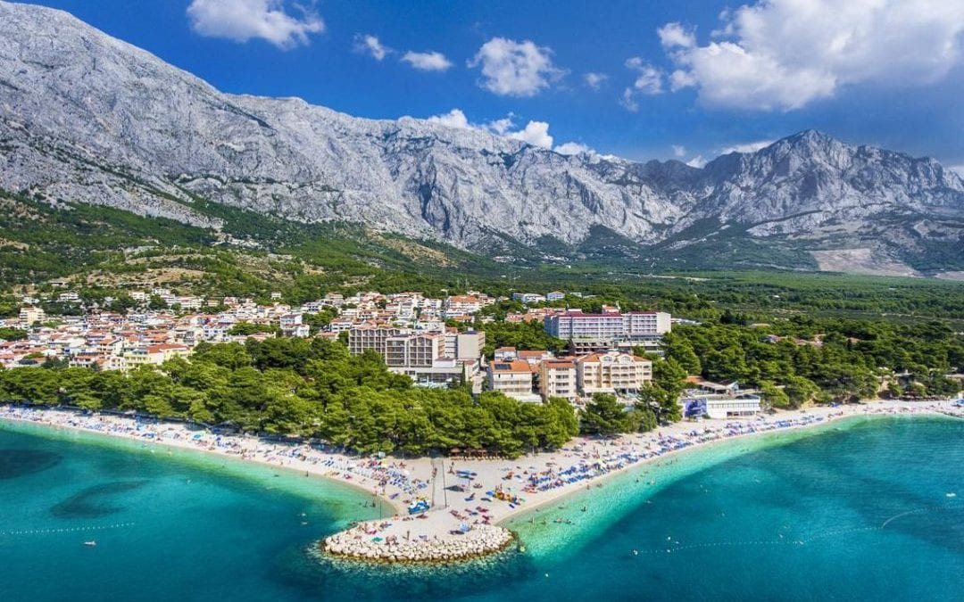 Ljeto u Hrvatskoj: Makarska rivijera, Baška Voda – Hotel Horizont 4*