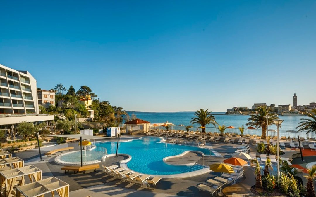 Ljeto u Hrvatskoj: otok Rab, Rab – hotel Valamar Padova 4*